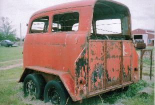 1948 Chev Suburban Horse trailer