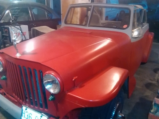 ***1948 Willys Jeepster Roadster.