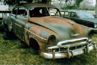 1949 Chev 2 dr Fastback