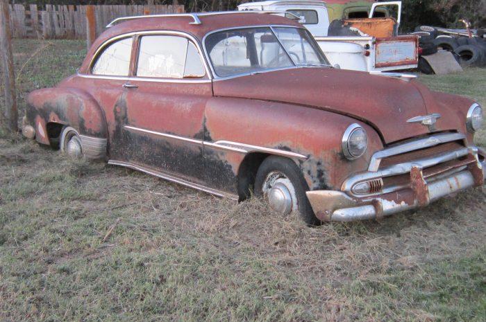 1951 Chev 2 door sedan