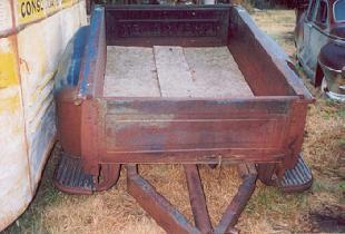 1956 Chev short box trailer