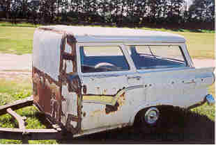 1957 Ford station wagon trailer