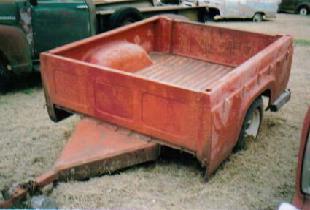 1959 Ford short box trailer