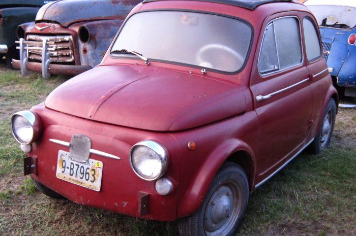 1961 Fiat Lexus 500 Micro Car