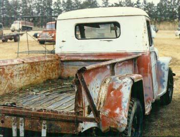 1949 Willys Grey ½ ton pickup
