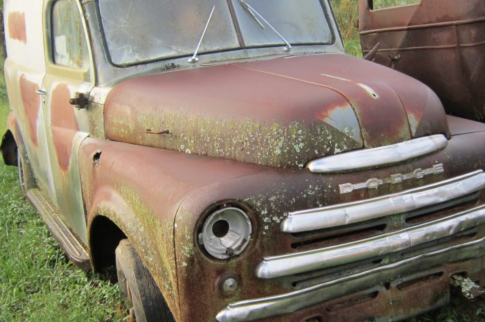 1950 Dodge 1/2 ton panel