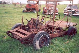 1950 Ford pasture buggy