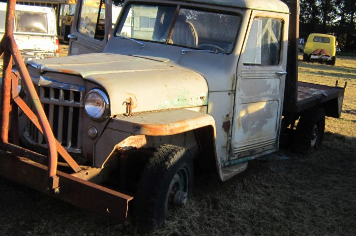 1952 Willys ½ ton flatbed