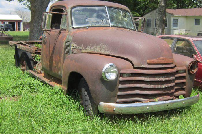 1953 Chev 3/4-1 ton Flatbed