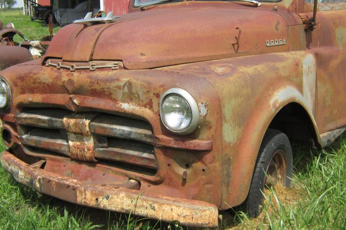 1953 Dodge half ton panel