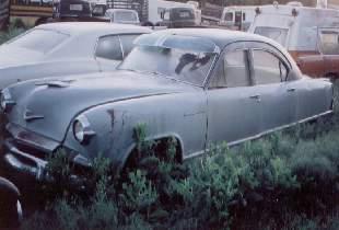 1953 Kaiser Deluxe