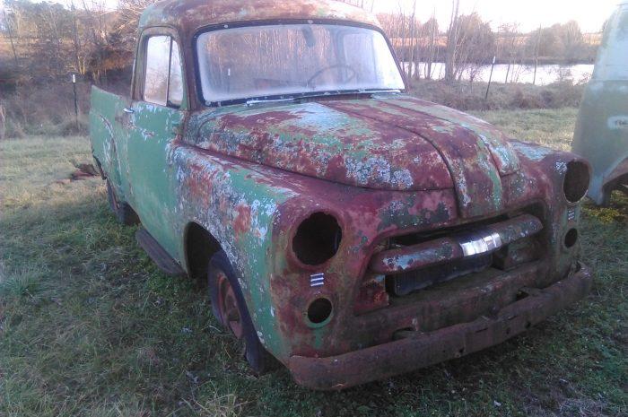 1954 Dodge 1/2 ton panel