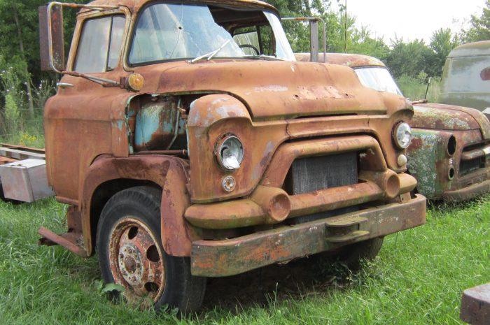 1955 GMC COE 1½ ton