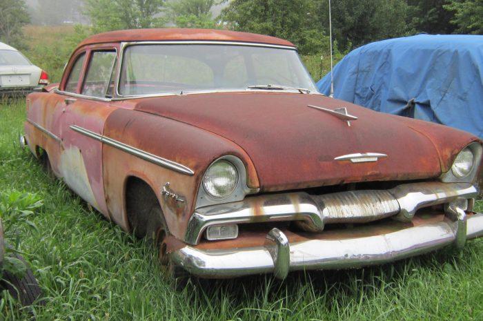 1955 Plymouth Plaza 2 dr Sedan