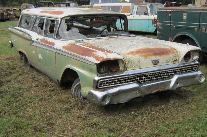 1959 Ford wagon: Country Sedan