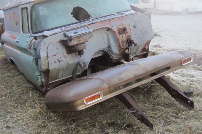 1960 Chev 1/2 ton panel