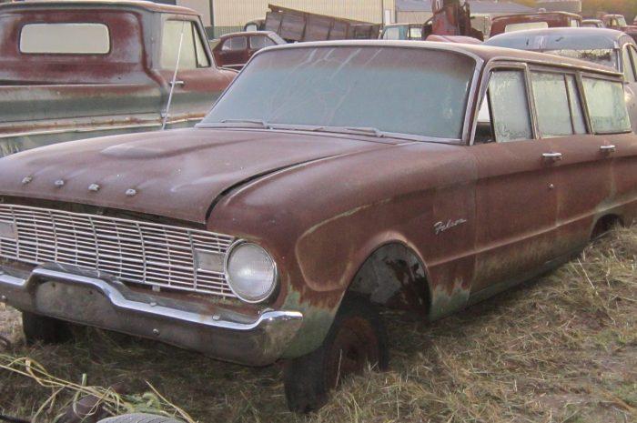 1960 Ford Falcon wagon