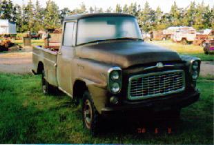 ***1960 IHC 3/4 ton