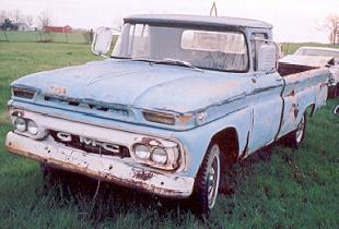1961 GMC 3/4 ton