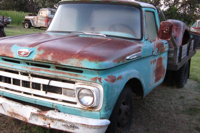 1961 Ford Green F350