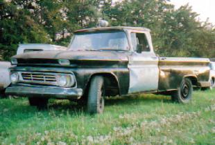 1962 Chev 3/4 ton pickup