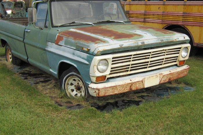1968 Ford F100 ½ ton pickup