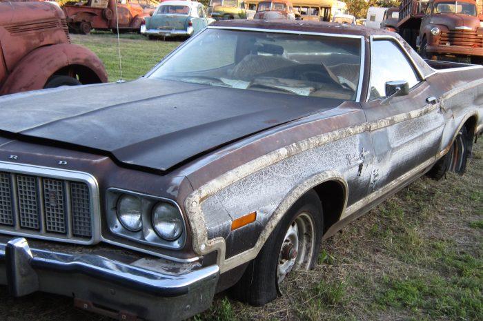 1974 Ford Squire Ranchero pickup