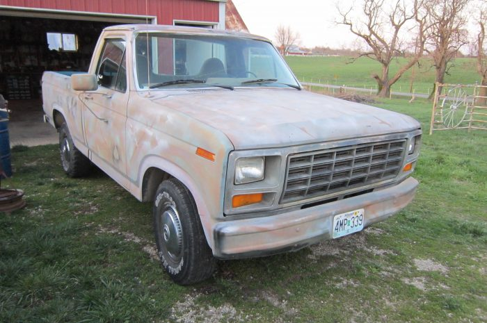 *1981 Ford F100 shortbox
