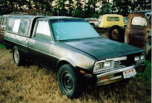 1986 Dodge D-50 by Mitsubishi
