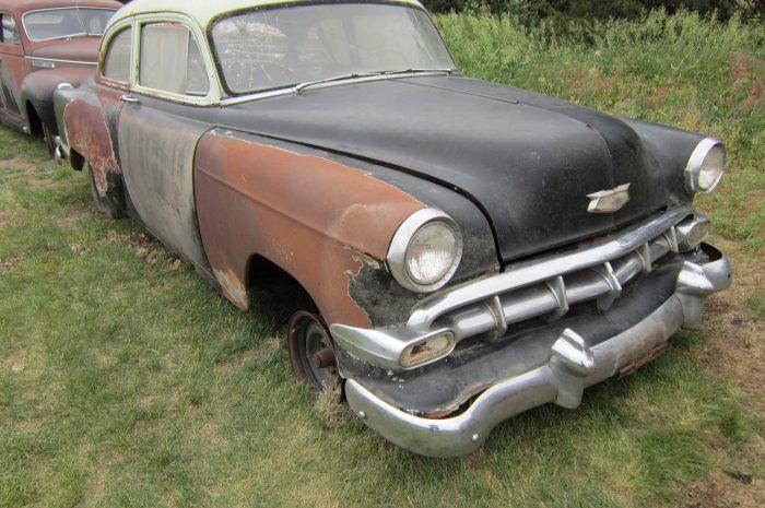 1954 Chev 2 dr sedan