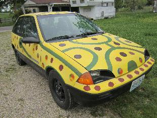 ***1991 Chev Geo Metro Art Car