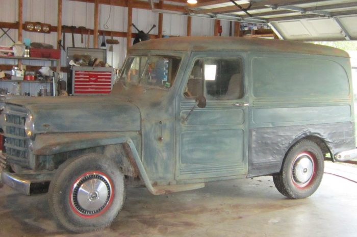 ***1950 Willys Wagon Delivery